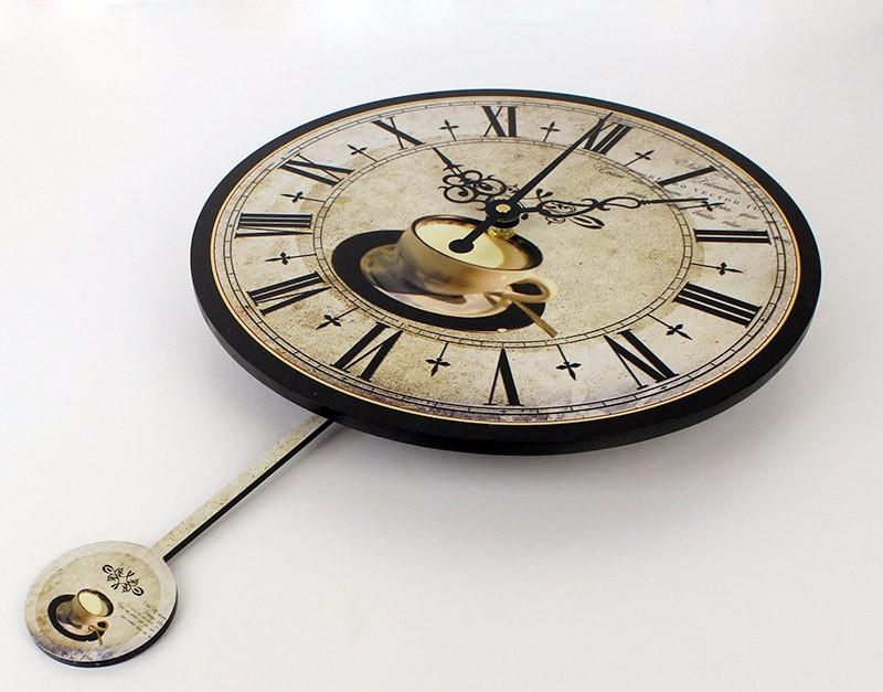 Wholesale Modern Coffee Large Decorative Wall Clocks