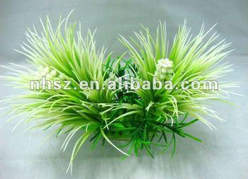 Fish Tank Artificial Plants Artificial Flowers