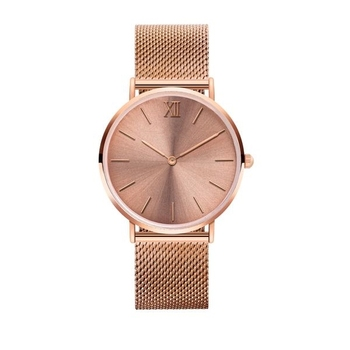 Top Selling Custom Brand Minimalist Name Brand Wrist Watch Quartz Movt Watches Ladies