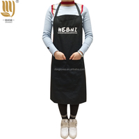Customized Bib Apron Cotton Cooking Apron Cheap Fashion Chef Apron