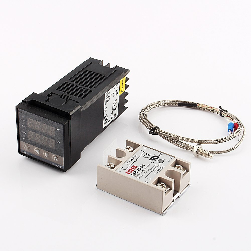 Cheap Pid Temperature Controller Wiring Find Wire Control Get Quotations Digital Dual Display Rex C100