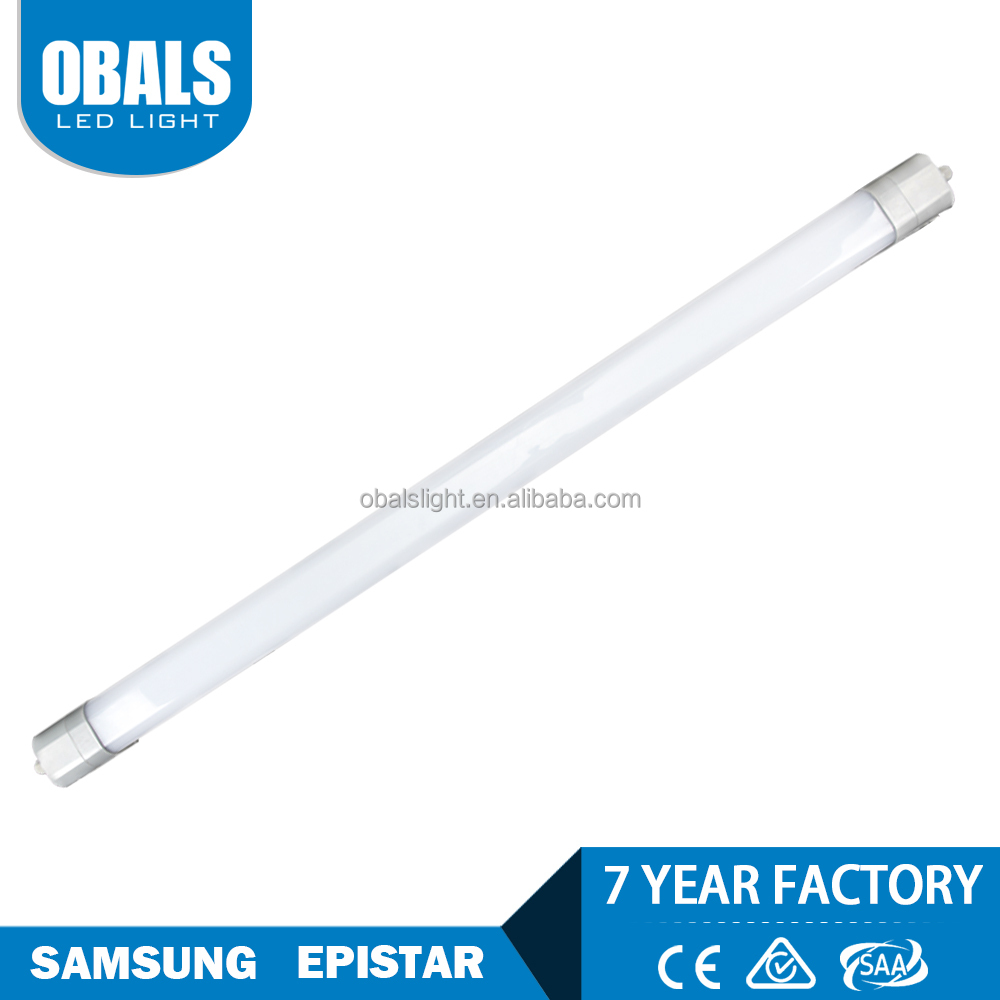 Residential IP20 ceiling white black dimmable led three proofings LED Tubes lamp