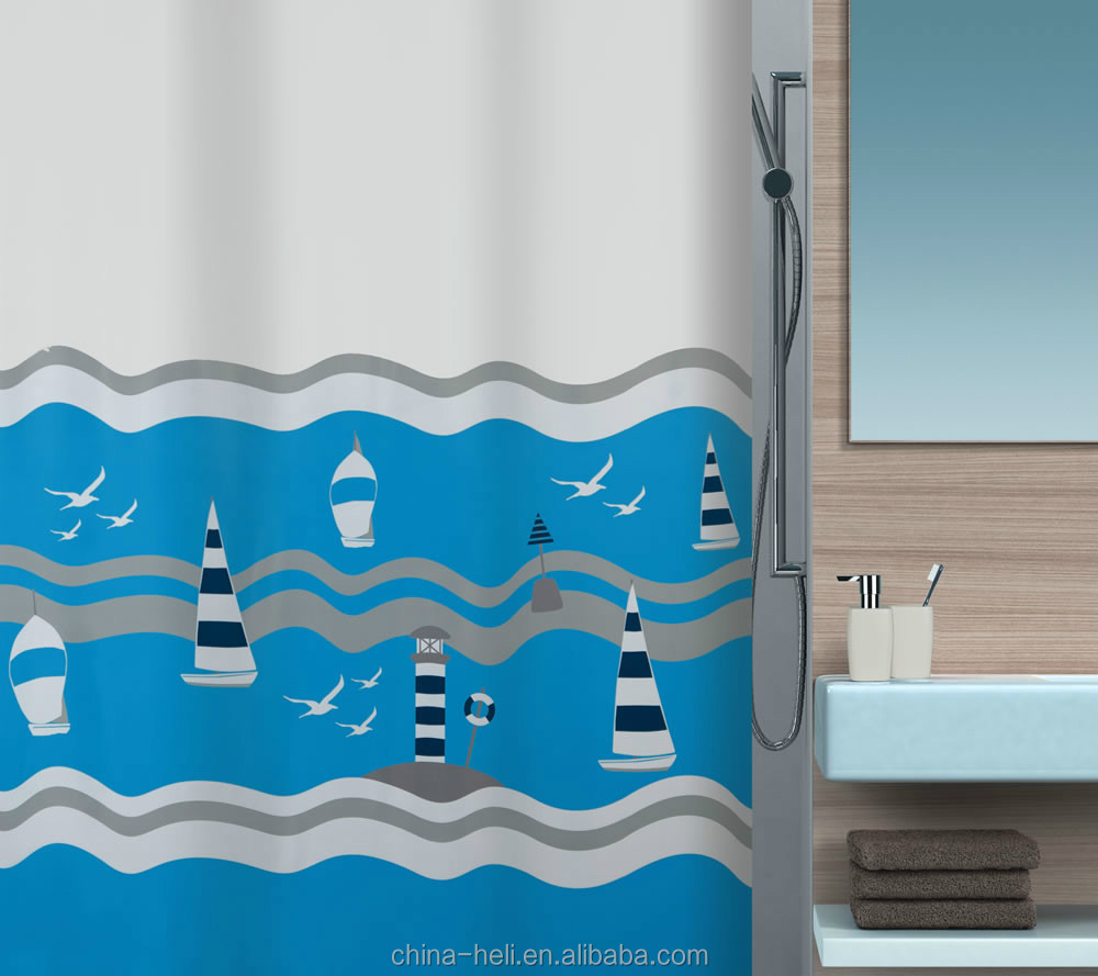 Beachy shower curtains - Beach Shower Curtains Beach Shower Curtains Suppliers And Manufacturers At Alibaba Com