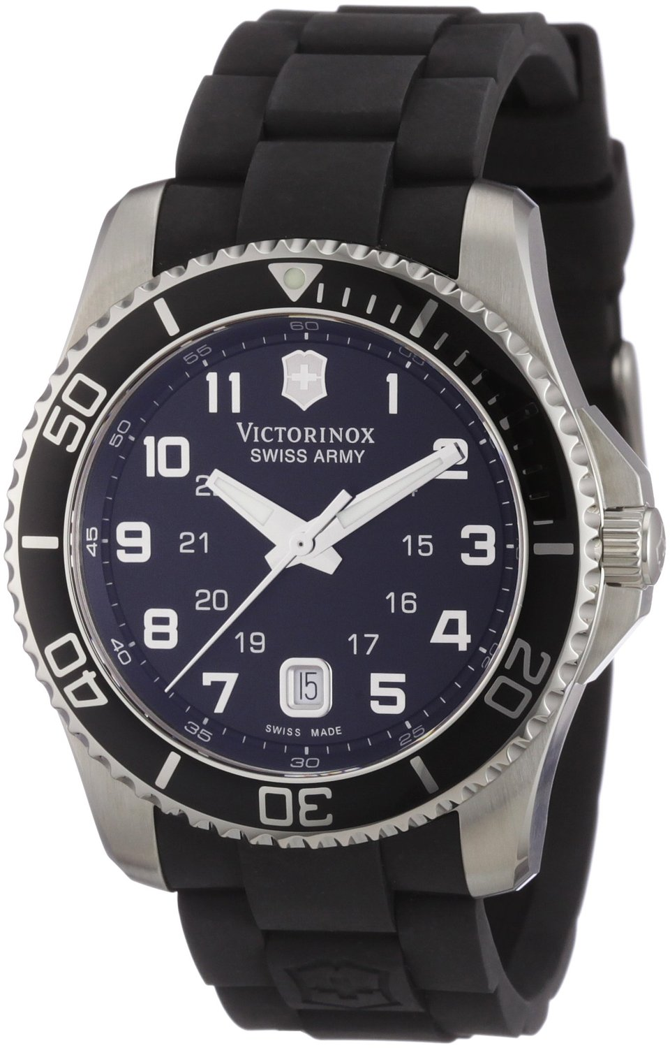 Victorinox Swiss Army Men's 241435 Maverick Rubber Black Dial Watch