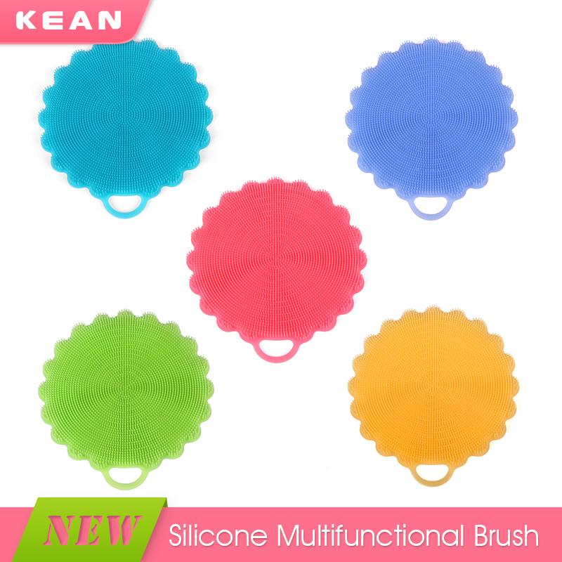 Convenient Soft Silicone Clean Kitchen Sponge Alternative - Buy ...