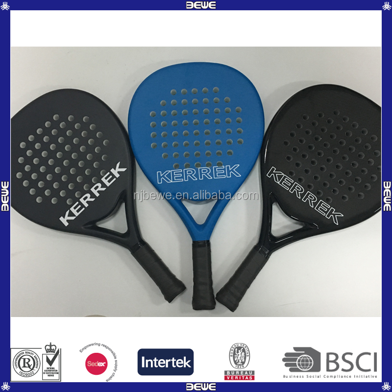 100% Carbon Customized Beach Paddle Racket