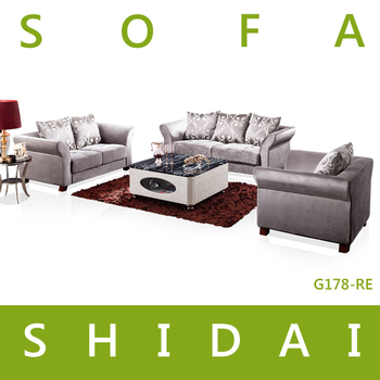 Home furniture living room moroccan fabric sofa set for Moroccan living room furniture 01