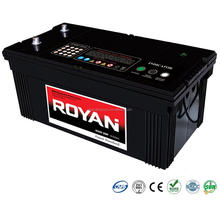 12V 200Ah Volvo Truck Battery Maintenance Free MF SMF Battery rocket truck car batteries