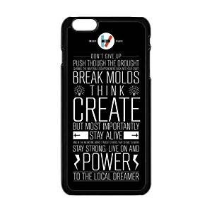 FEEL.Q- 21 Pilots Twenty One Pilots Personalized Protective Black TPU Rubber Cell Phone Case Cover for iPhone 6 & iPhone 6S