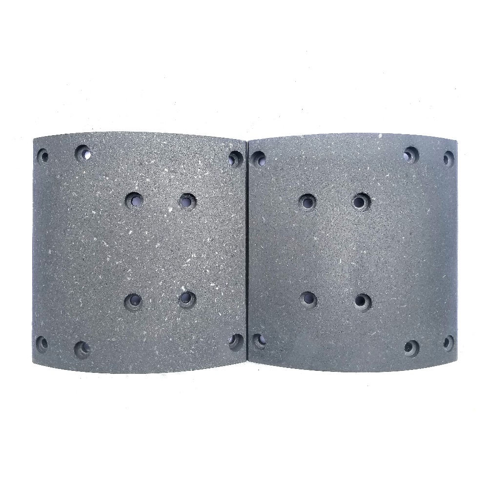 wva truck brake lining york brake lining yutong bus brake lining