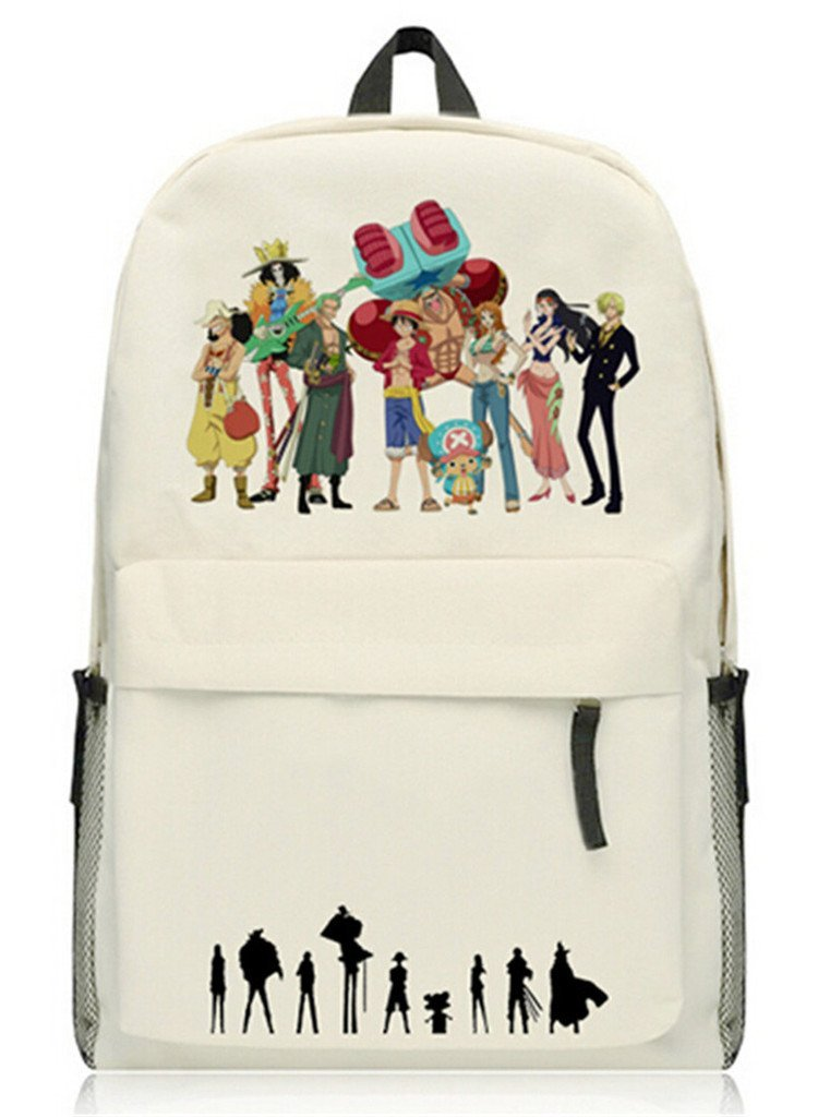Anime Luffy One Piece Kids School Bags for Teenager Backpack Children Schoolbag