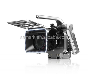 professional shoulder mount with follow focus , for camera vidican with stick control,FOR BM PC