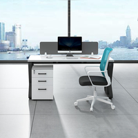 New Design Luxury CEO Manager l shaped computer desk office table