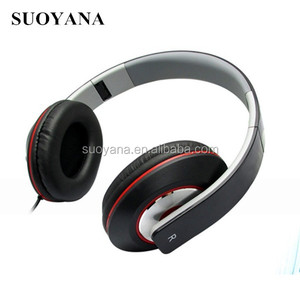 Shenzhen Manufacturer Wired Foldable headphone With Volume Control Free Sample Colorful Headset With BSCI