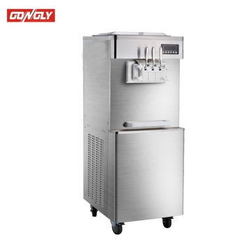 Gongly commercial strong soft ice cream machine for sale