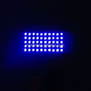 High Power 50w 100w 150w 365nm 385nm 395nm 405nm Quartz Lens UV Curing LED Array