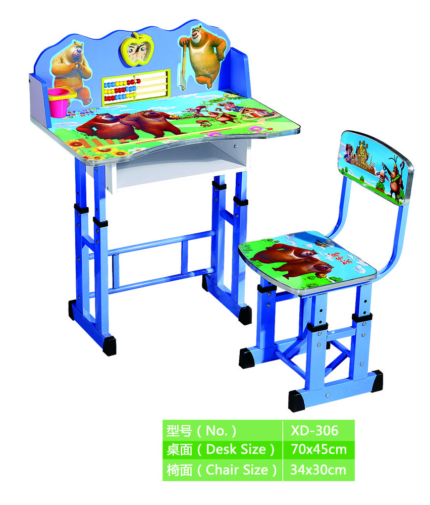 hot sale model kids table low price child study table and chair