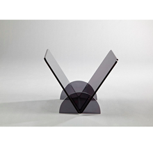 Desktop simple grey acrylic adjustable book stand
