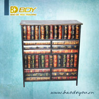 book style unfinished living room cabinets