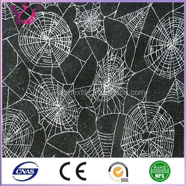 100 polyester spider web fabric for halloween decoration - Halloween Lace Fabric