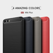 2017 best selling products mobile phone case for xiaomi 6 plus