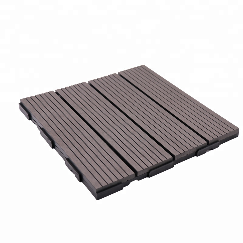 Easy installation wood plastic composite deck tile outdoor <strong>flooring</strong>