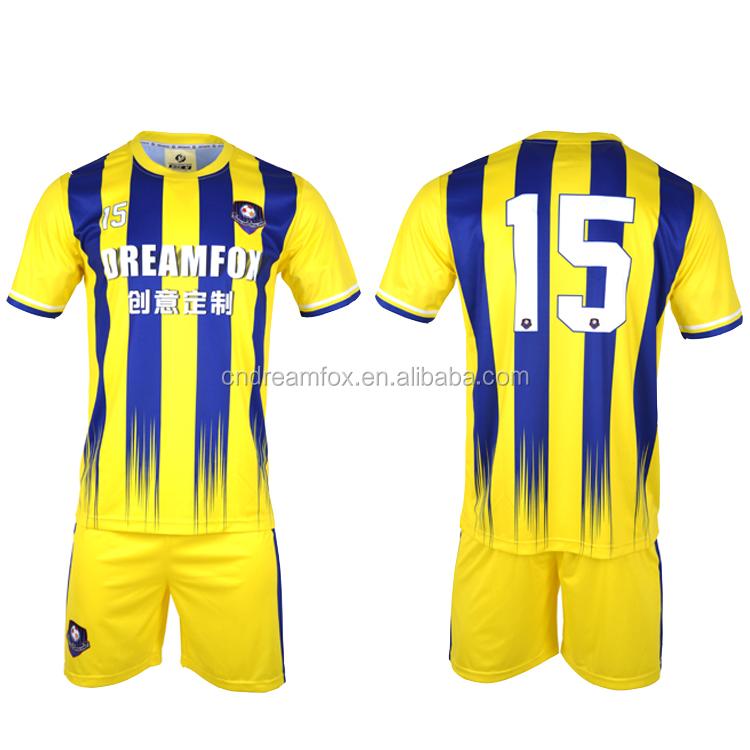 668691f21884f 2018 nuevo estilo Taiwán jersey de fútbol poner tu nombre diseño su propio  amarillo Brasil xxl