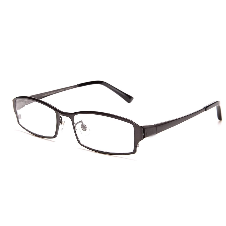 2fee9e8eaf Get Quotations · 100% Titanium Frame Hard Resin Lens Business Presbyopic  Glasses