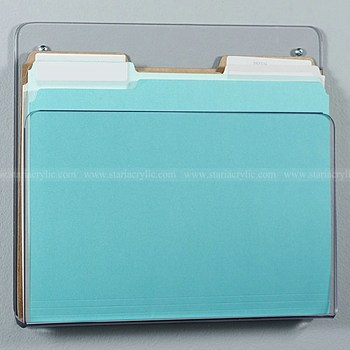 Medical Clear Plastic Chart Holders Acrylic File Holders