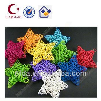 Nueva estrella colorida decoraci n del rbol de navidad buy product on - Arbol navidad ratan ...