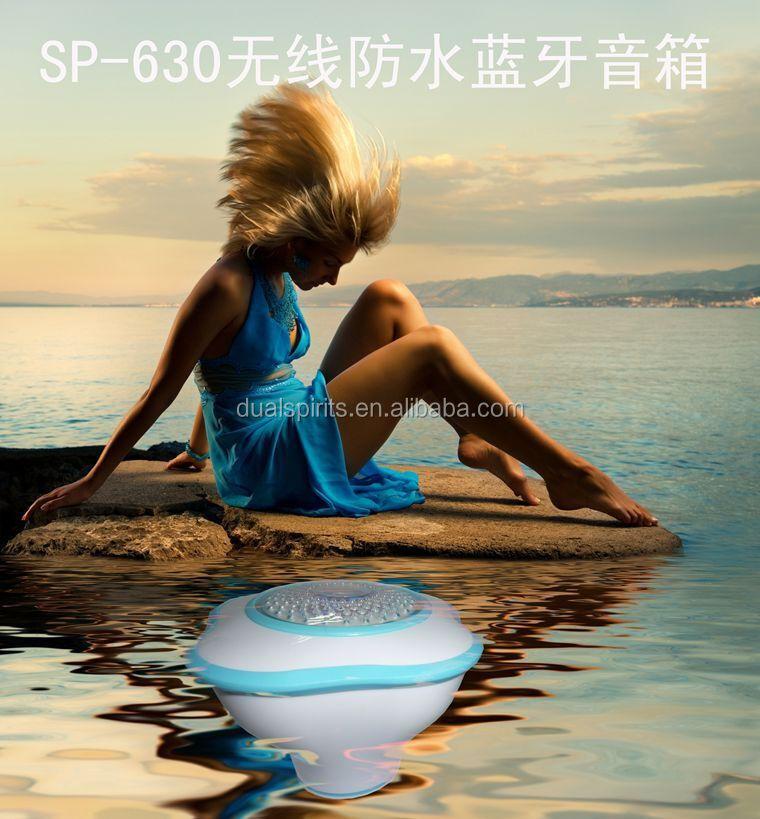 Ipx5 waterproof floating speaker 3 0 bluetooth bathroom - Waterproof speakers for swimming pools ...