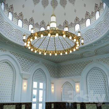 large islamic mosque lighting chandelier for church