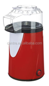 Popcorn Maker / Hot air / Without oil / On-off switch / Plastic housing