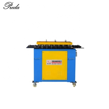 China supplier hvac duct pittsburgh lock forming machine portable seam lock forming machine for duct making