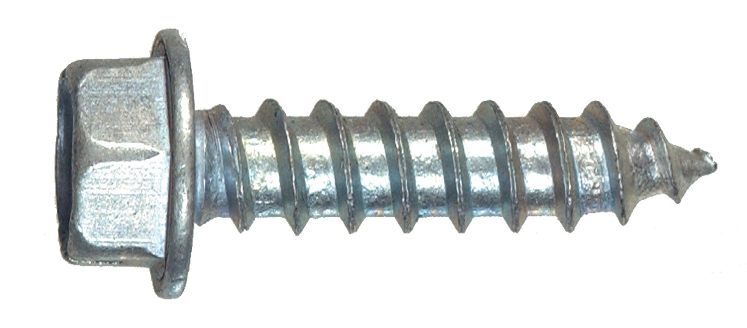 The Hillman Group 35112 Hex Washer Head Sheet Metal Screw 12 x 3/4 75-Pack