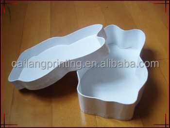 Bear Shaped Gift Box For Chocolate/flower Packaging Flower/D Shaped Lid And  Base