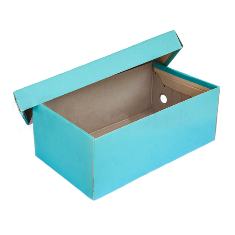 cheap color printing corrugated paper shoe box