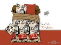 king size new York design 3D bedding set