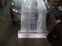 LDPE/HDPE pretaped masking film /Pretaped Plastic Wrap For Car Painting