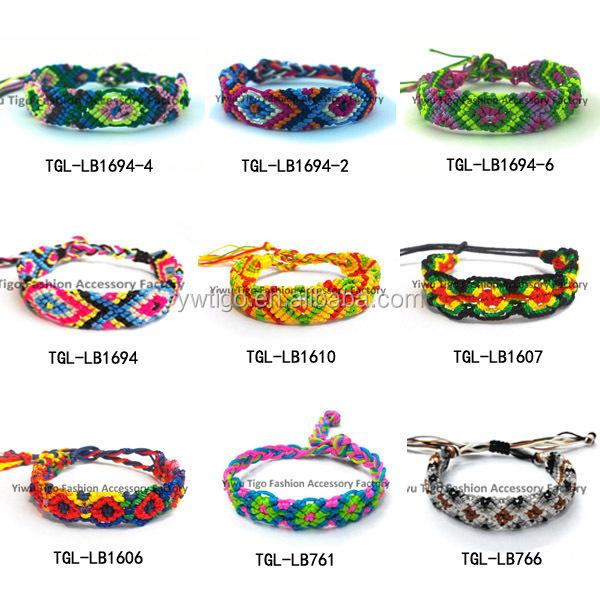 Whole Brazilian Types Of Woven Bracelets
