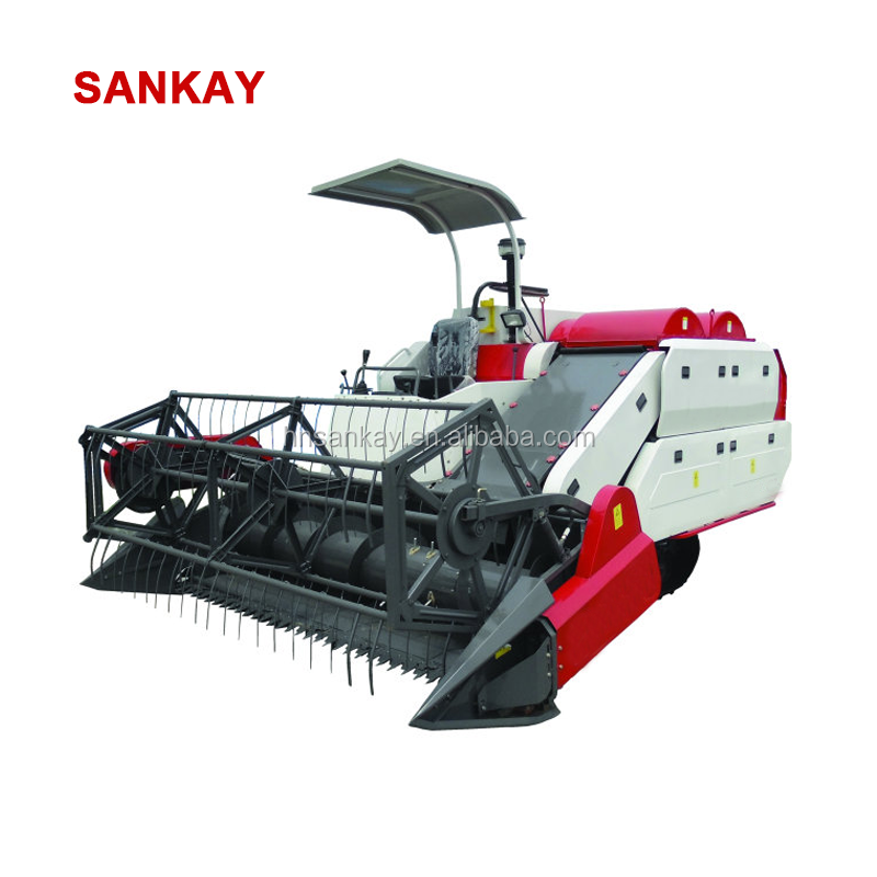Agricultural Equipment 4LZ-2.0D Small Mini Rice Wheat Combine Harvester in India for Sale