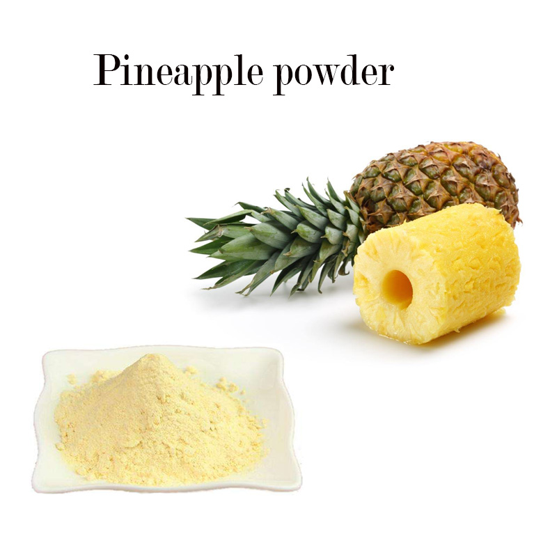 ISO Manufactory offer pure natural organic Pineapple powder 100% Pineapple powder high quality Pineapple powder