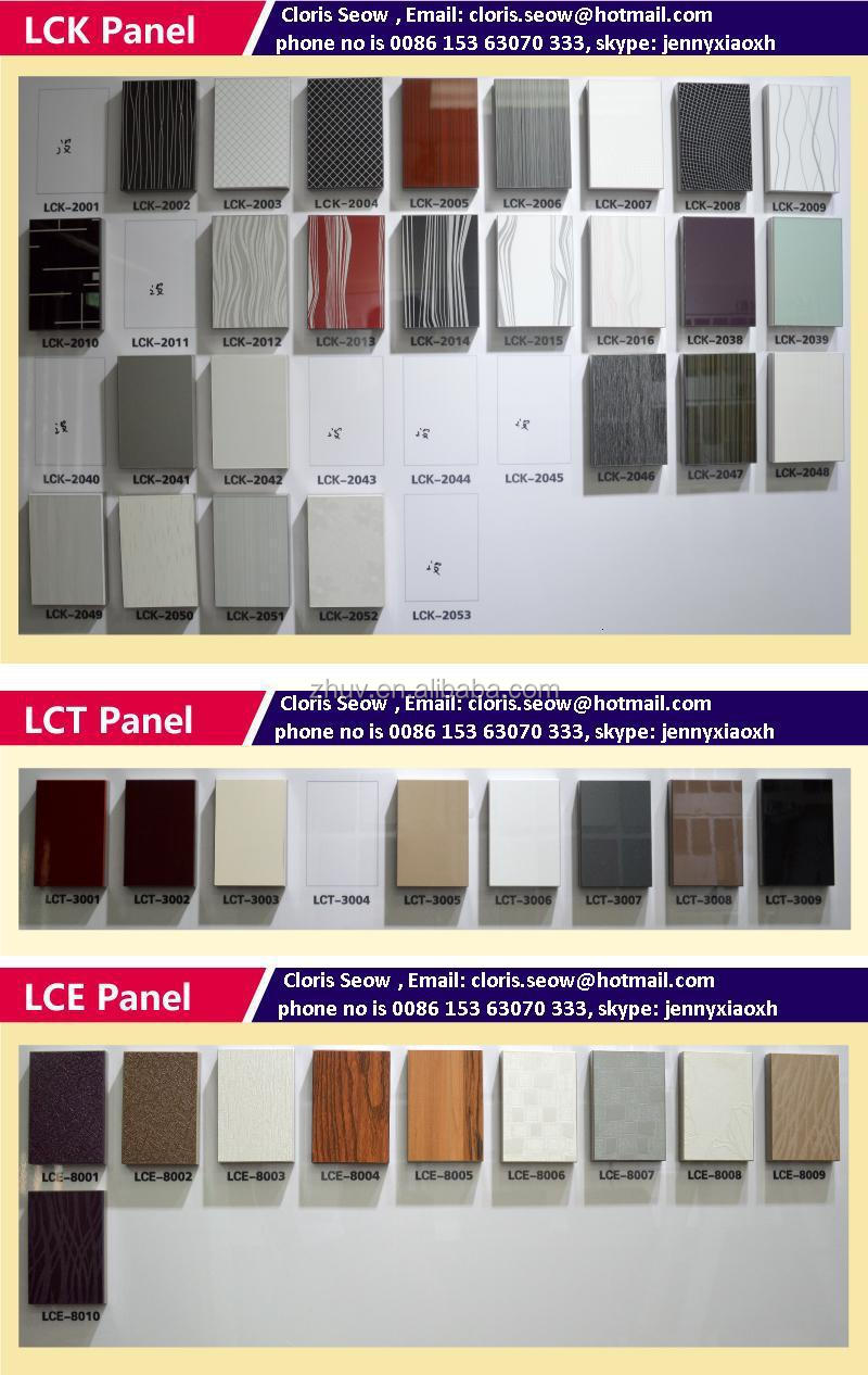 Kitchen cabinet accessories high gloss panel mdf with petg laminated buy high gloss panel mdf for Car wax on kitchen cabinets