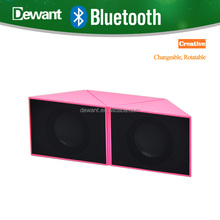 2017 newest TF Card audio player speaker portable super bass HIFI stereo MP3 music subwoofer soundbar Bluetooth wireless speaker