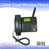 SC-9031- CP CDMA Desk Phone with 800/1900MHz Hand-free and Redial,Speed dial, SMS Memory,FM radio