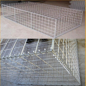 Alibaba hot sale welded gabion wire mesh boxes/stone gabion cage wall (China manufacture )