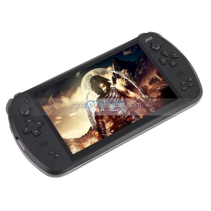 "Origiinal 7 ""Quad Core Game Console Jogador tablet pc JXD S7800 S7800B gamepad Android 4.4.4 2G RAM 16 GB 1280X800 IPS Dupla Veio"