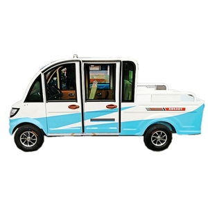 4 seater electric pickup car for adults