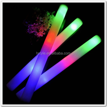 2016 Concert Party Lighting Led Foam Stick, Led Foam Glow Stick, Light Up Led Foam Stick With Logo SL029