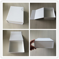 Popular! Paperboard Plain White Shipping Mail Box , Expensive Magnet Shipping Box